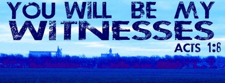 witness banner